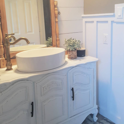 Our guest bathroom renovation